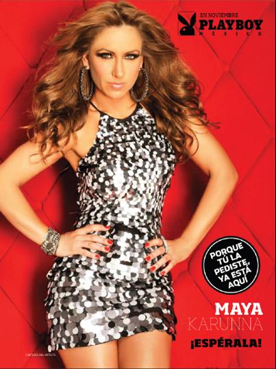 Fotos Maya Karuna Revista Playboy Noviembre 2014