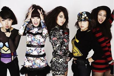 Biodata 4Minute Girlband Korea