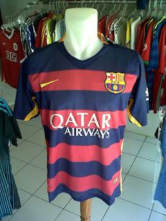 Jual Jersey Barcelona Home 2015/2016 di toko jersey jogja sumacomp, murah berkualitas Import