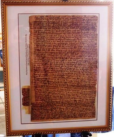 Mary Dyer's letter to Endecott