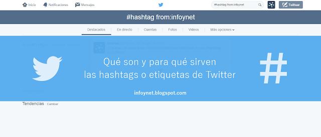 Qué son y para qué sirven las hashtags o etiquetas de Twitter