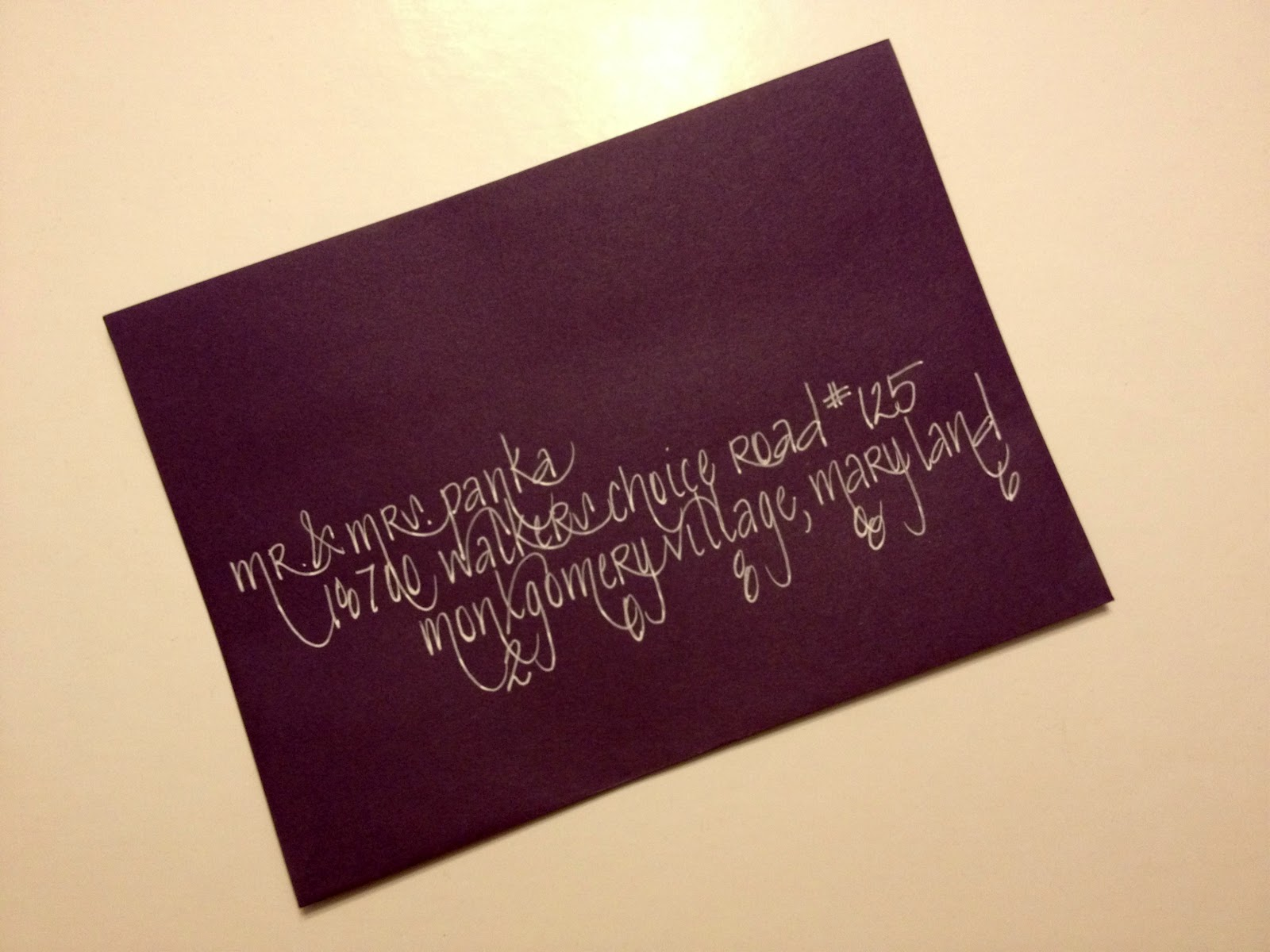 Penned And Pretty A Calligraphy Shop White Ink And