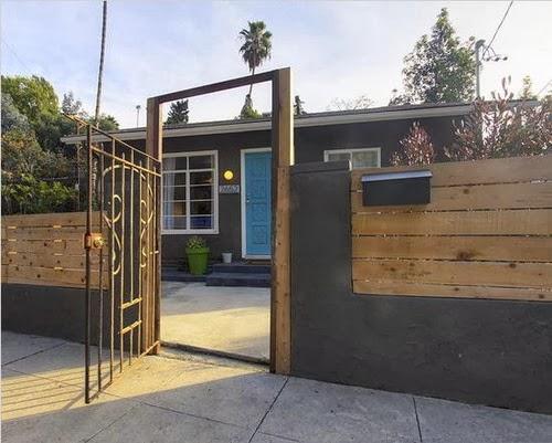 pagar tembok rumah minimalis modern