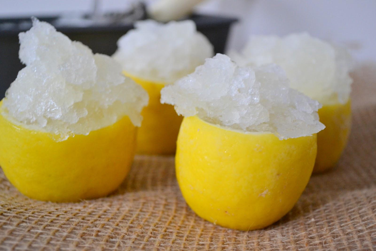 Heart of Gold: Lemon Granita