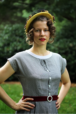Summer Vintage Fashion Recap - Outfit 9 #vintage #fashion #outfit #dress #1950s
