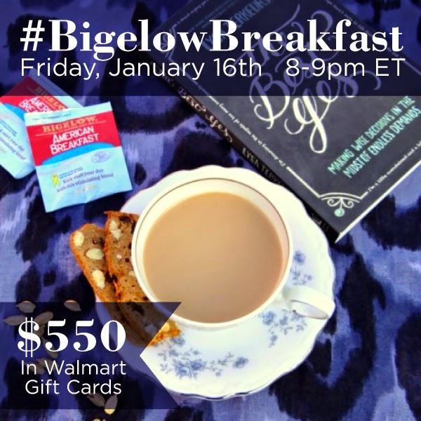 #BigelowBreakfast 1-16-15 8PM ET #ad
