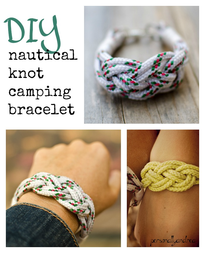DIY Nautical Knot Bracelets | personallyandrea.com