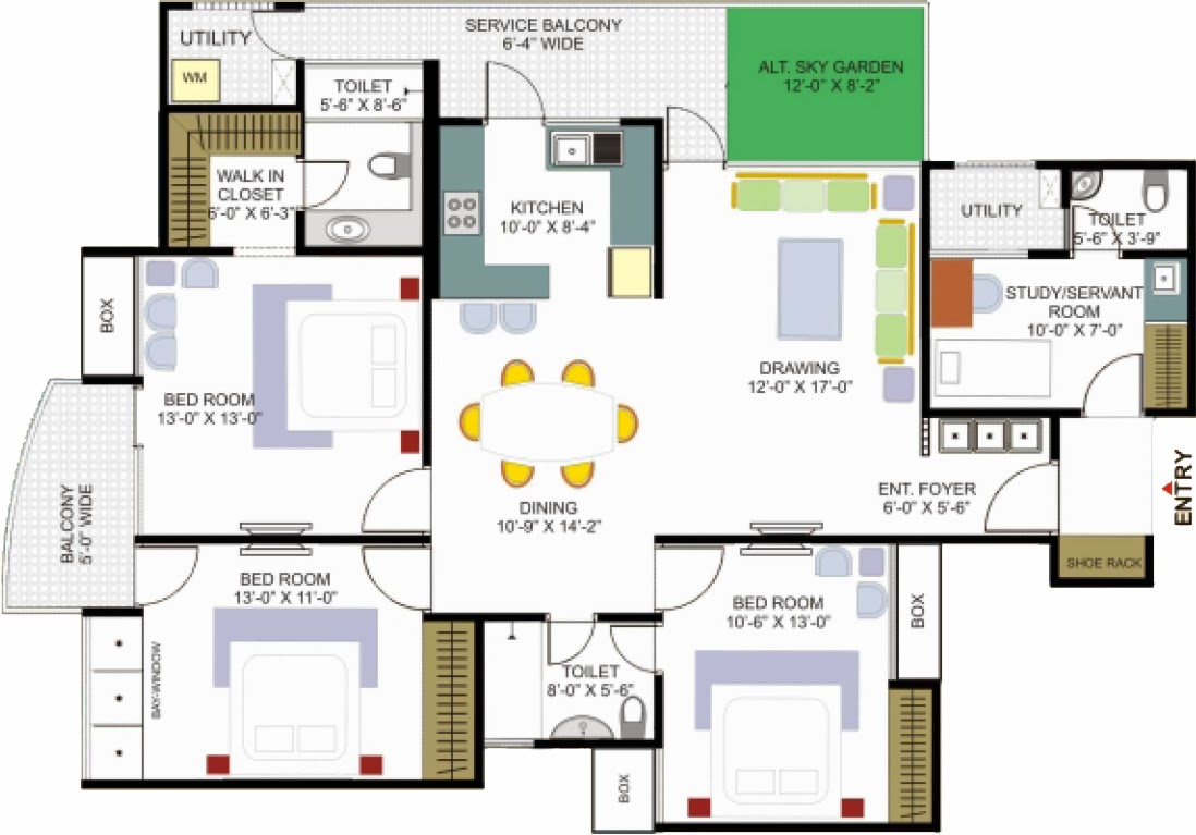 Foundation dezin decor home plans layouts for Make your floor plan