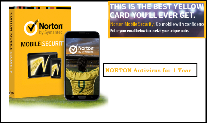 Free Norton Antivirus for 1 Year