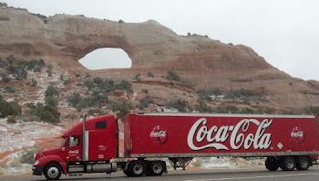 Ryder/Coke Truck, Southern Utah
