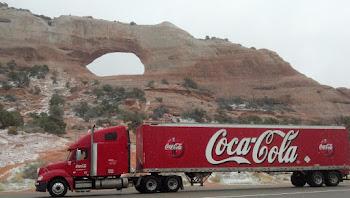 Ryder/Coke Truck, Southern Utah