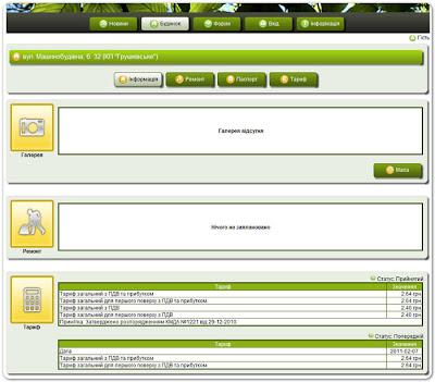 Информационно-аналитическая система управления жилищным фондом