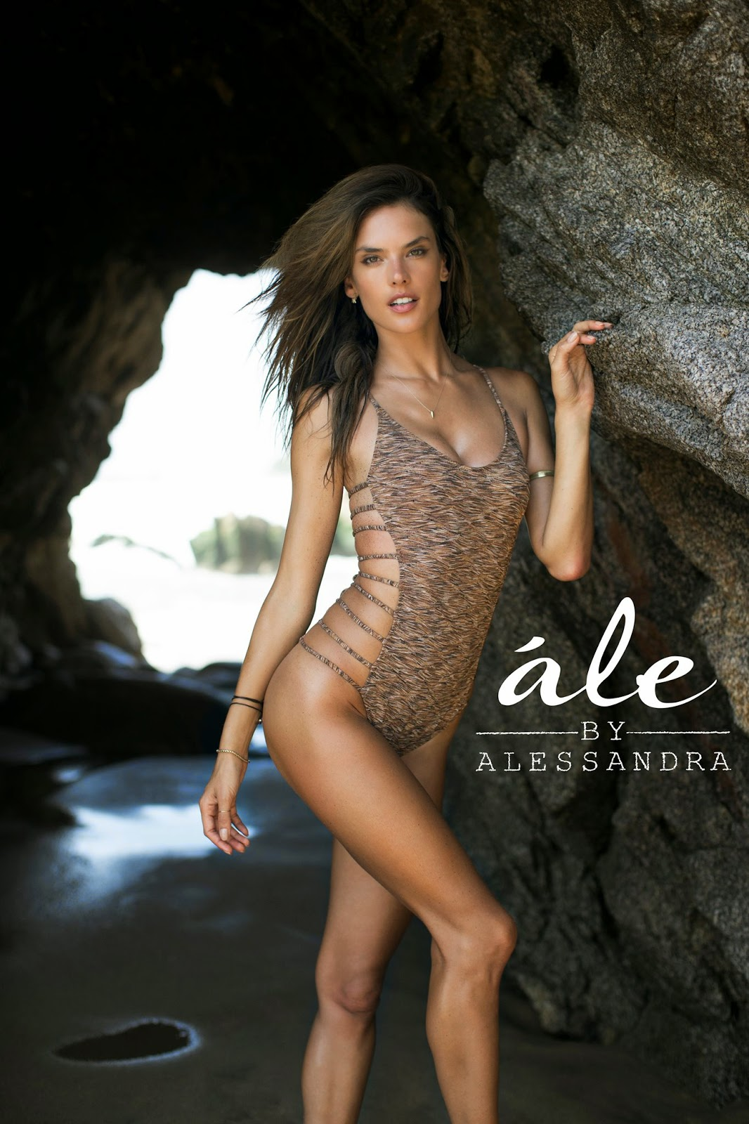 Alessandra Ambrosio ale by Alessandra Advertisement 2014