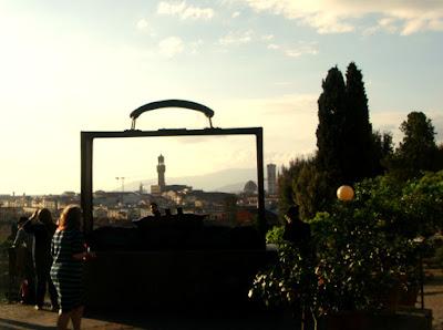 Firenze vista dall'alto - Giardino delle Rose