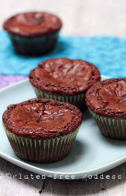 Lovely Gluten-Free Fudgy Brownie Cupcakes