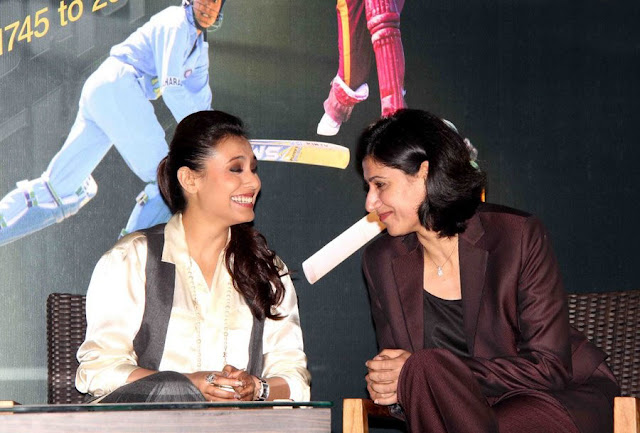 Rani Mukherjee Womens Cricket World Site Promotion Pictures