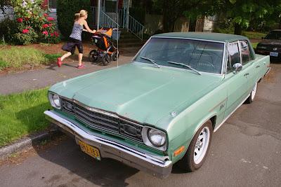 1973 Plymouth Valient Sedan.
