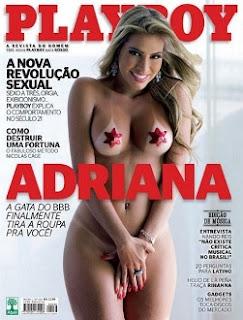 Revista Playboy Adriana BBB11 Setembro 2011