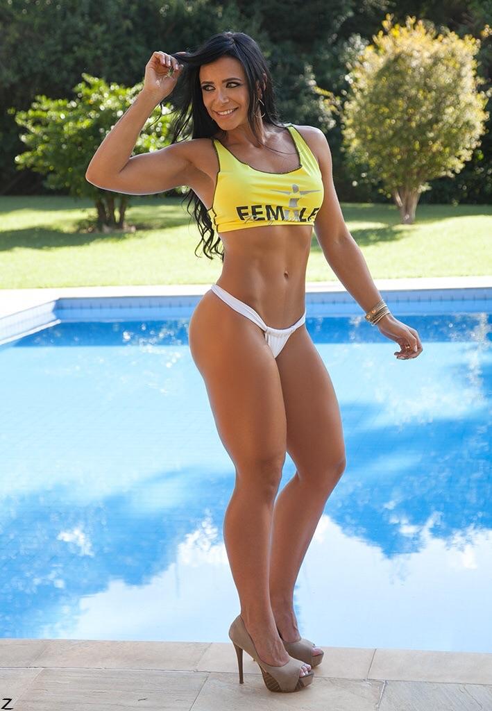 Modelo Fitness Carol Porcelli Gostosa