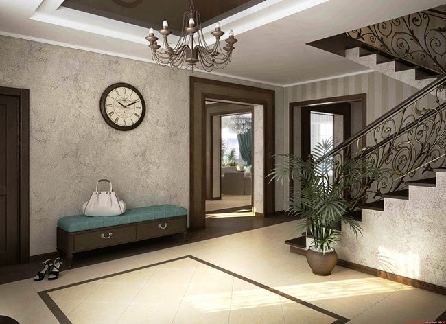 Wall painting ideas for hall for Living hall decoration