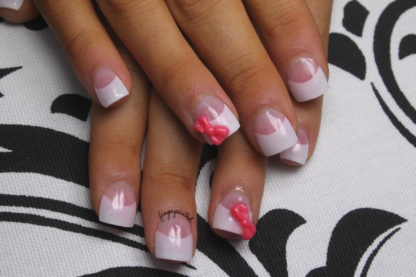 Shellac French Tip Nail Designs French Tip Nail Designs