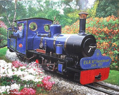 exbury_gardens_railway_10th_anniversary_painting