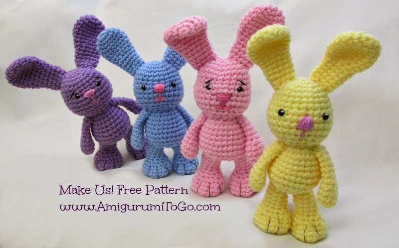 Free Crochet Pattern For A Rabbit : bunny rabbit crochet pattern free Quotes