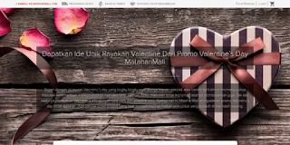 Sambut Hari Kasih Sayang Dengan Valentine Day Promo Dari Online Shop