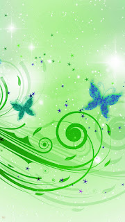 Green Butterflies HD Mobile Wallpapers