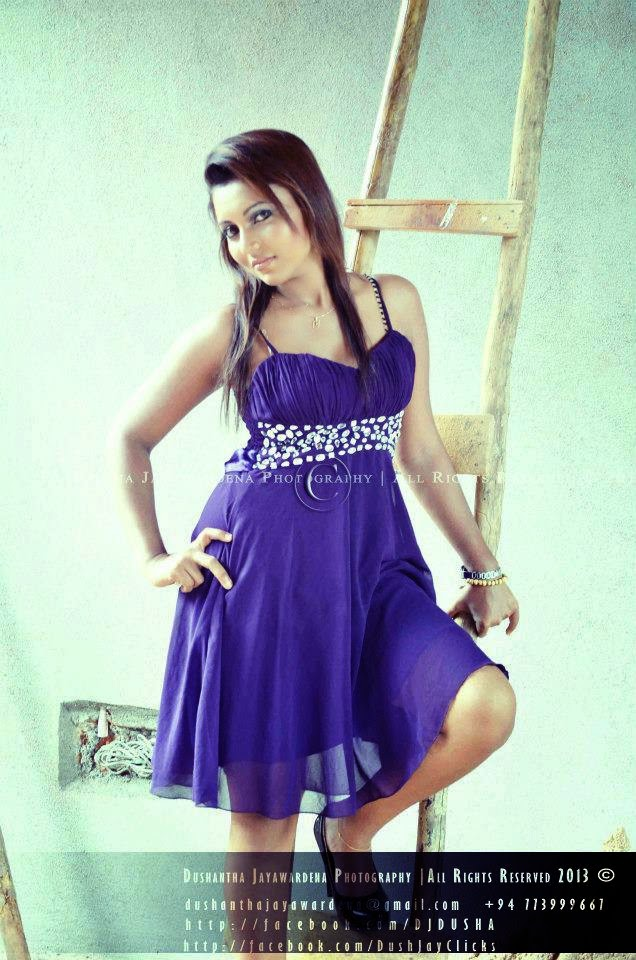 Shani Shenaya Wickremasinghe sri lankan model