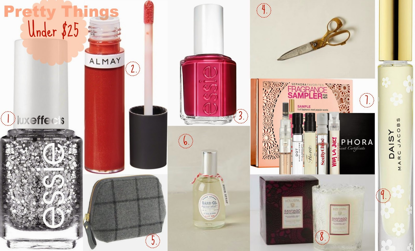 Gift Guide 2014: Beauty Gifts For Less {Under $25}