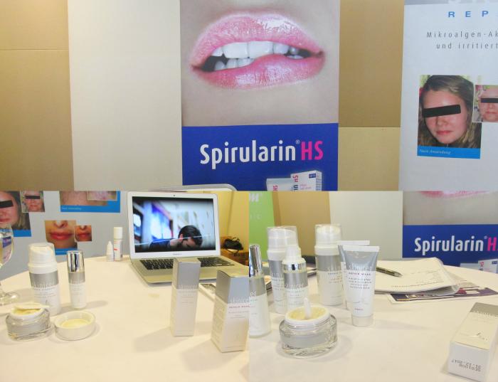 Beauty Press Blogger Event - Spirularin für Herpes & Skinicer für Problemhaut