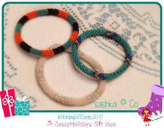 Sashka Co. Bracelets: A #SassyHolidays Gift Idea