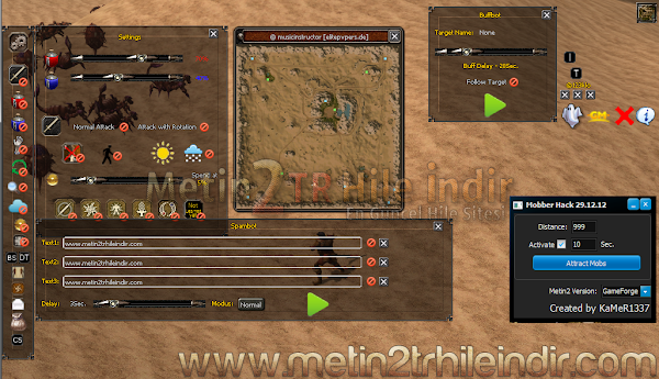 Metin2 TR m2k-Mod Multihack + Mobber Hack İndir