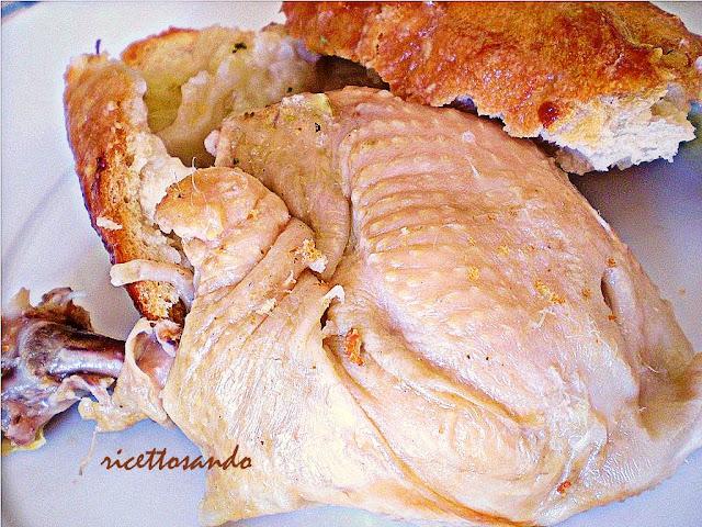 Pollo in crosta ricetta rustica