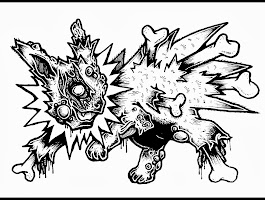 Pokemon Flareon Coloring Pages