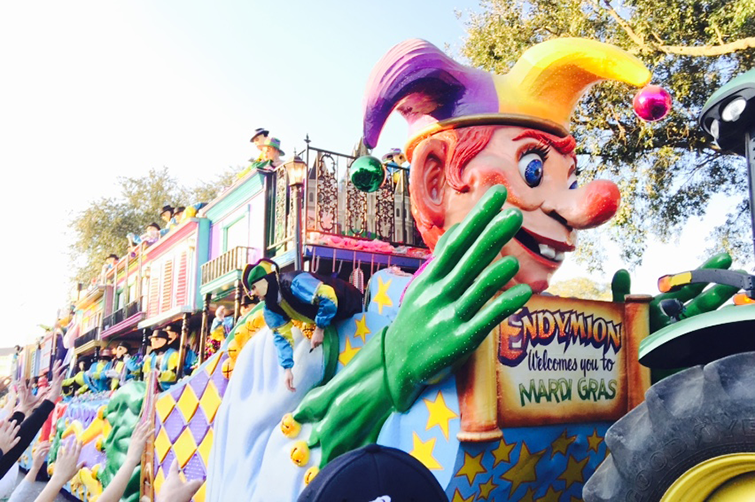 endymion parade float
