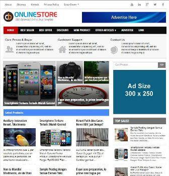 CB Online Store - Premium Template