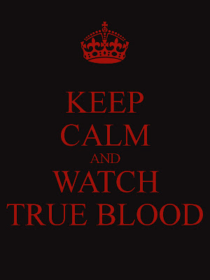 Keep Calm And Watch True Blood beer bottle label@northmanspartyvamps.com