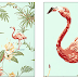 Flamingo Bay Wallpaper and the Seaside collection