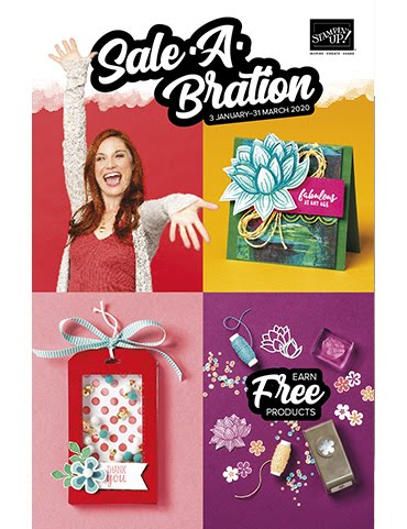 View the Stampin' Up! 2020 Sale-A-Bration Brochure online