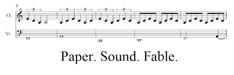 Paper. Sound. Fable