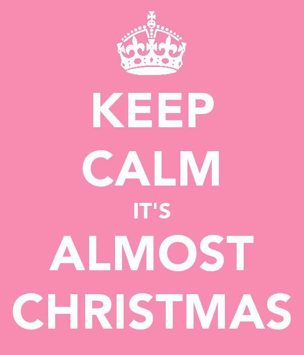 Inspire my house pretty: Keep calm and have a very merry christmas ♥
