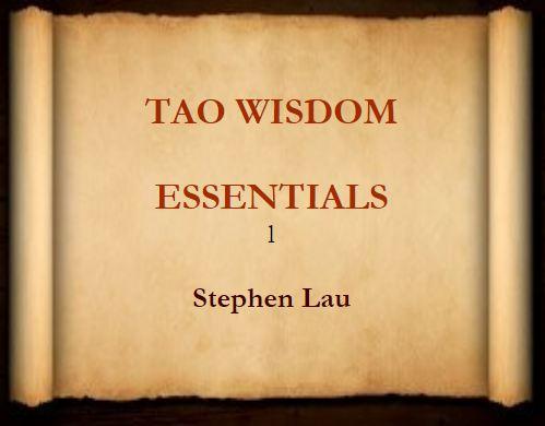 <b>TAO WISDOM ESSENTIALS</b>