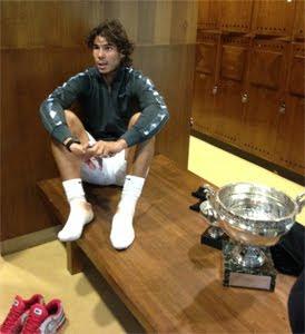 Rafael Nadal copa Roland Garros