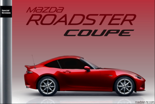 Mazda MX-5 Roadster Nd Coupe