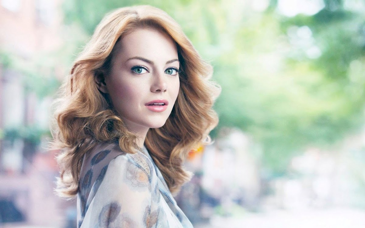 Emma Stone Widescreen HD Wallpaper 4