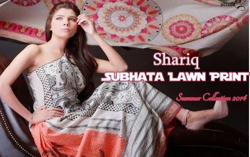 Subhata Lawn Prints 2014