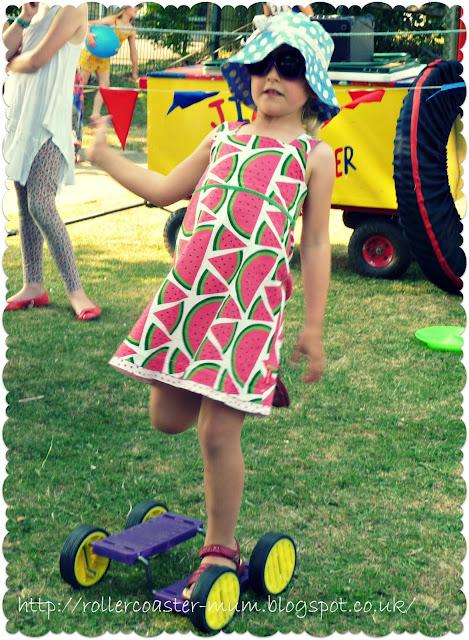 Circus skills for kids