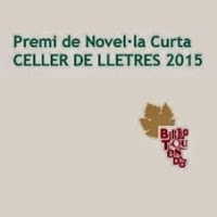 'Premi de Novel·la Curta Celler de Lletres 2015'